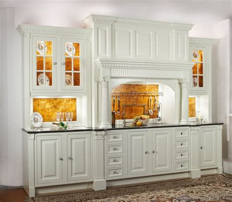 Pictures Of Kitchens Traditional White Kitchen White And Wood Kitchen Cabinets