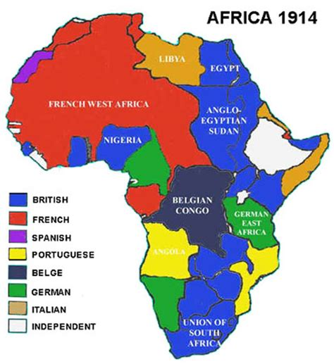 Map Of Africa 1914 by Long Term Causes Of Ww1 Rb2france
