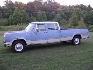 1973 Dodge Truck Buy Used 1973 Dodge D200 Crew Cab Bed Truck In
