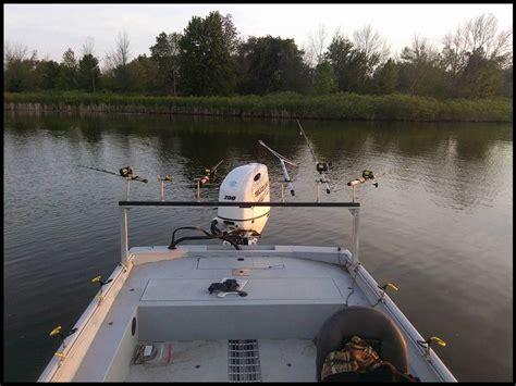 boat cabin rod holders pro cat boat rod holders