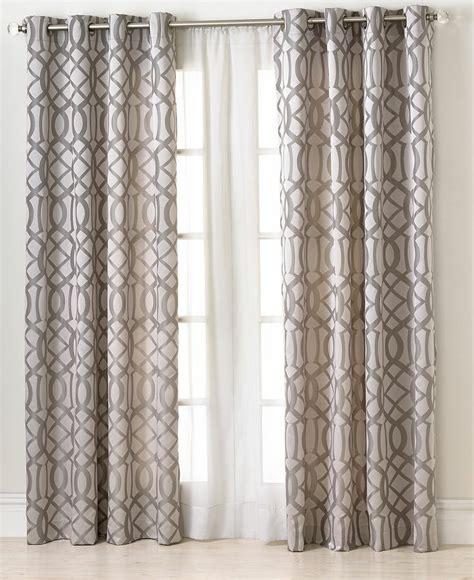 macys drapes elrene window treatments latique collection fashion