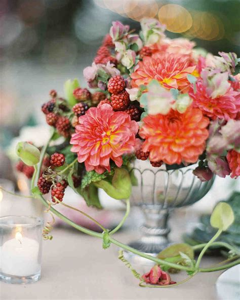 Fall Flower Wedding Centerpieces by 66 Rustic Fall Wedding Centerpieces Martha Stewart Weddings