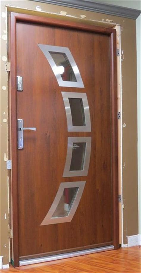 Pvc Exterior Door Quot Miami Quot Modern Metal Pvc Front Entry Doors Contemporary Front Doors New York By Liberty