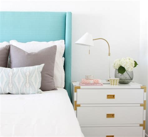 Turquoise Headboard by A Fresh Turquoise Headboard Owens And Davis
