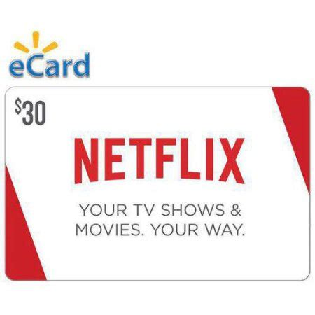 Walmart Gift Card Email Delivery - netflix 30 gift card email delivery walmart com