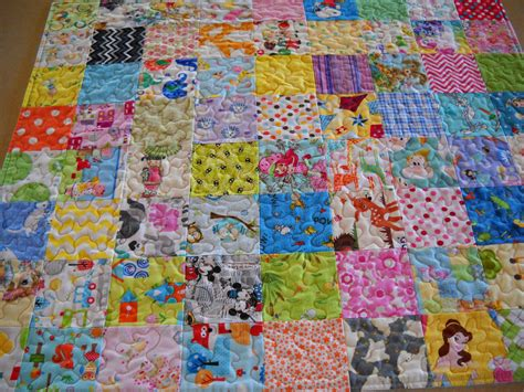 Patchwork Nursery - handmade baby quilt patchwork nursery bedding by juliekarsky