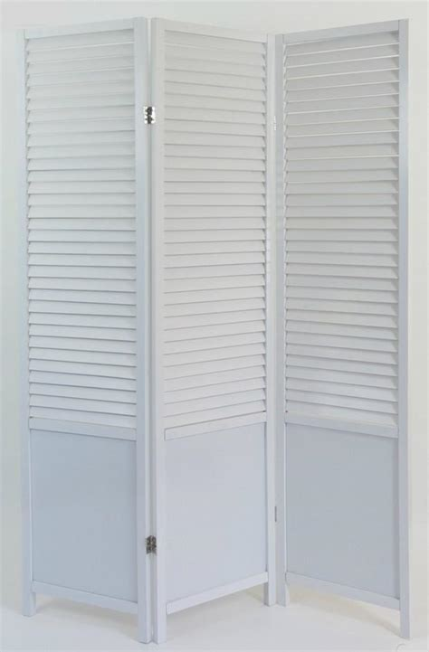 slatted room divider paravent wooden slat room divider screen white 3 panel
