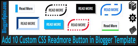 read more templates for blogger add 10 custom css readmore button in blogger template