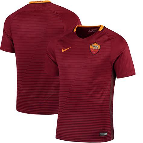 Jersey As Roma Home 3 nike as roma 2016 17 home stadium jersey
