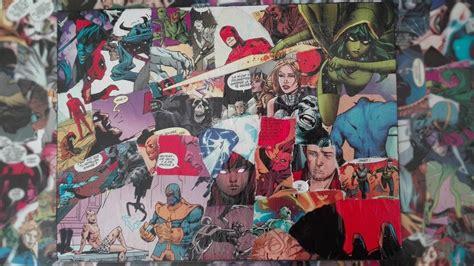 Customiser Un Tableau by Customiser Un Tableau Fin Avec Des Comics Marvel