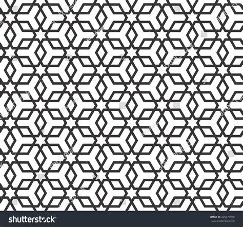 abstract arabic pattern islamic pattern monochrome arabic pattern overlapping