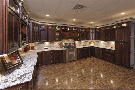 Chocolate Kitchen Cabinets York White And Chocolate Shaker Kitchen Cabinets We Ship Everywhere Rta Easy