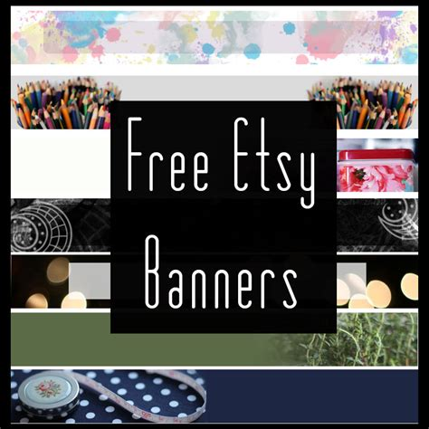 free etsy banner template free header banners images