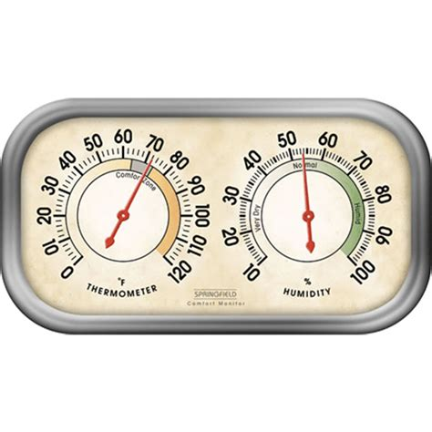 Jual Thermometer Hygrometer Analog springfield 90113 1 springfield 90113 1 thermometer hygrometer springfield 90113 1 analog