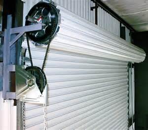 Overhead Roll Up Garage Doors Medium Duty Service Door Fills A Market Need