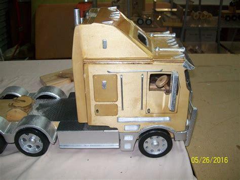 wooden kenworth truck 1 15 scale wooden model kenworth k200 quot fatcab quot by