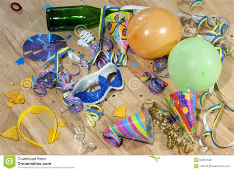 party clean mess after party stock photos image 22467643