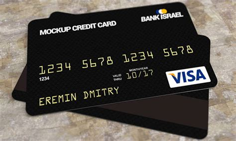 black credit card template 9 credit card mockups editable psd ai vector eps