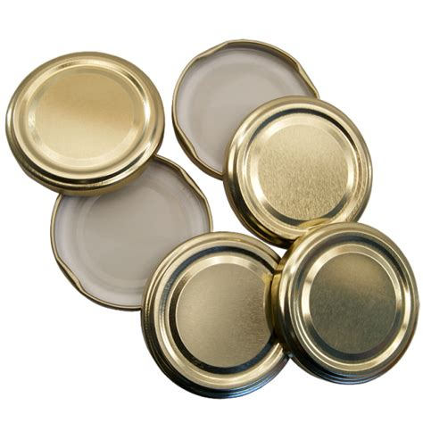 jar lids 82mm twist on jam jar lids gold pack of 6 balliihoo home brew