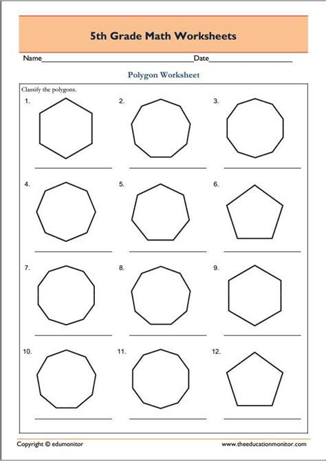 Pdf Geometry Worksheets by 81 Best Fifth Grade Worksheets Images On Fifth