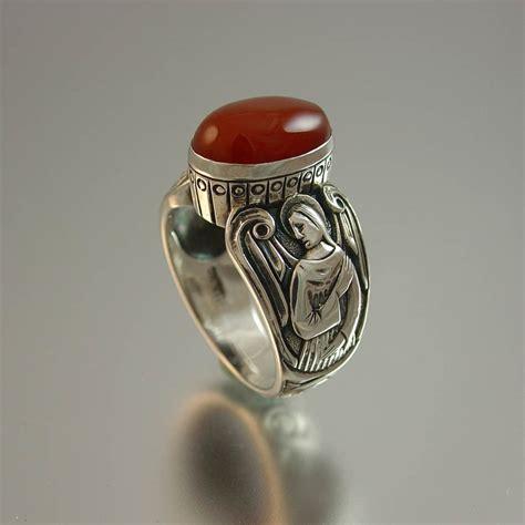 Carnelian Ring Monel Size Kantoran guardian carnelian mens silver ring size 8 to 14