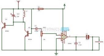 Fm radio circuit tiny single chip fm radio