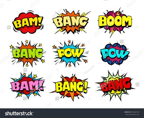 comic effects and serious themes in pride and prejudice comic book speech bubbles cool blast stock vector