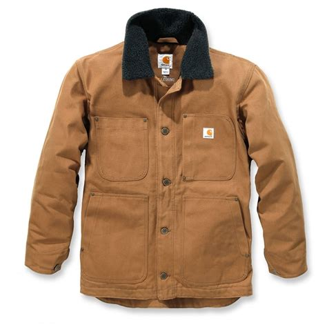 Kaos Carhartt Size Xl carhartt 102707 swing chore coat carhartt brown size xl one size only outlet store