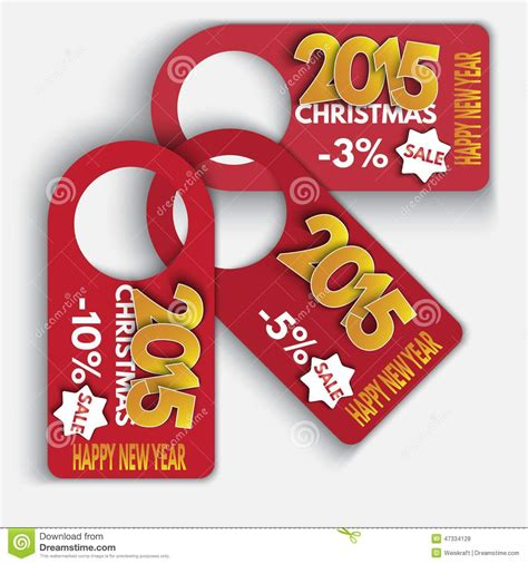 new year price price tag discounts labels sale set happy new year stock