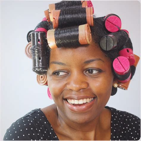 short hair styles set on small rollers how to cheat a roller set curlynikki natural hair care