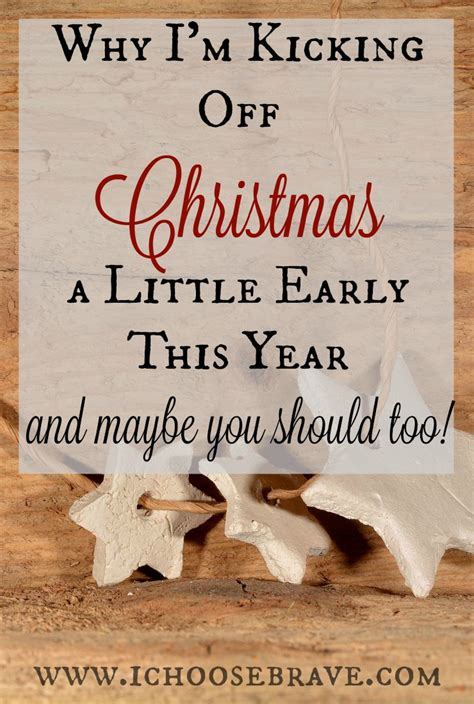 an early christmas christmas matters pinterest why i m kicking off christmas a little early this year i