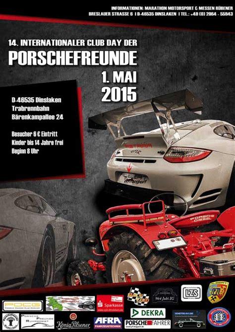 Porschefreunde 1 Mai by Internationale Treffen Der Porschefreunde 1 Mai 2015 In