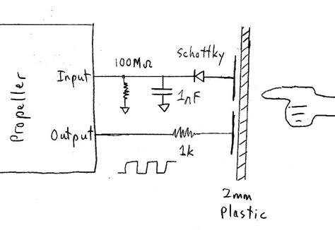 how to make a capacitive sensor simple capacitive touch sensor parallax forums