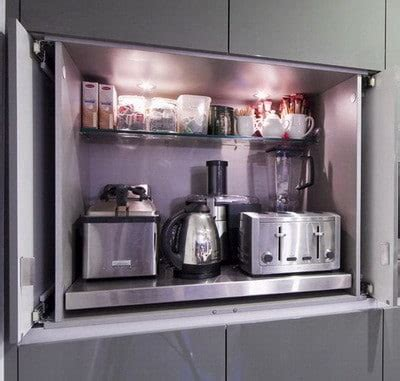 small kitchen appliance stores 40 appliance storage ideas for smaller kitchens