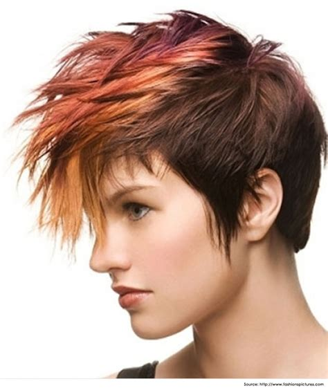 pictures of womens spiked hairstyles mohawk hairstyles for women and paint the town stylish