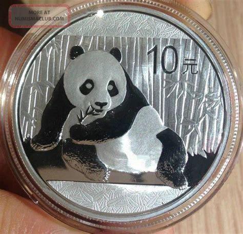 10 ounces of silver value 10 yuan value of one ounce of silver panda coin 2015