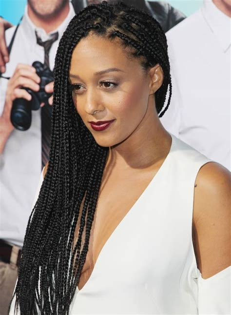 ways to style box braids with faded sides 20 awesome hairstyles for girls with long hair party