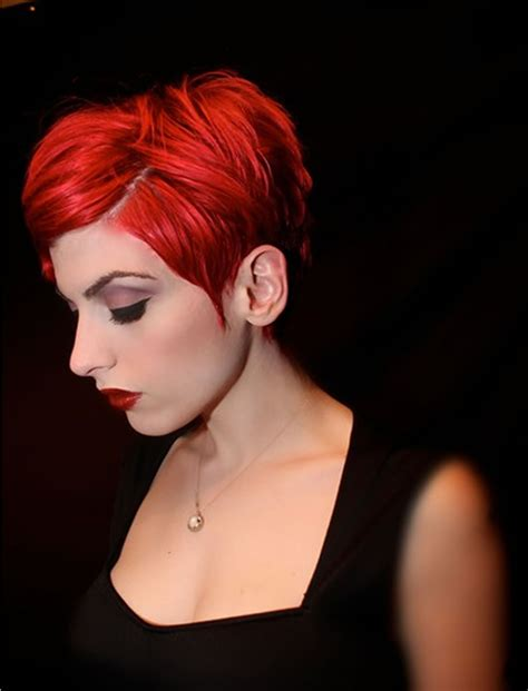 hairstyles with the color red red hair color for short hairstyles 27 cool haircut