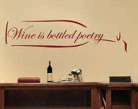 wine wall stickers wine wall decal etsy