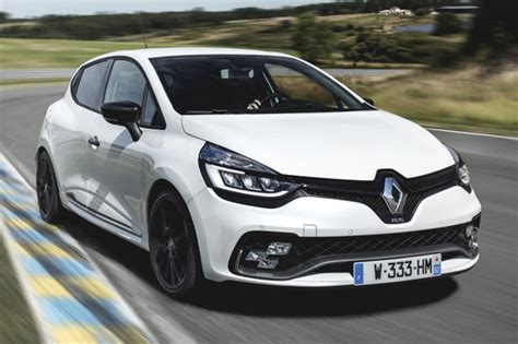 renault hatchback 2017 renault clio rs trophy 2017 pricing and spec confirmed