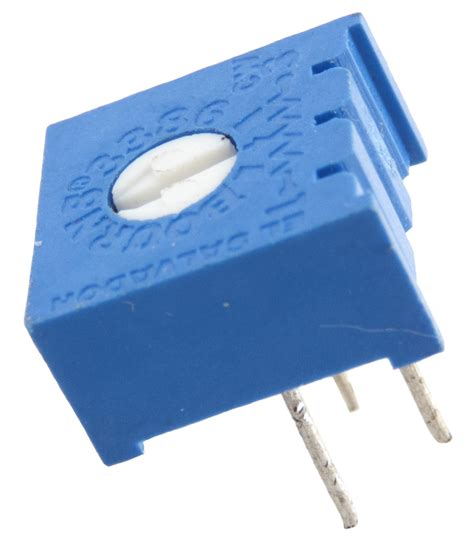 3386 Series 3386p 3386p 1 102 Trimpot Variabel Resistor Presisi 102 1k pc mount miniature single turn trimpots 1k to 1 99k ohm