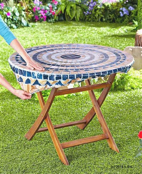 tablecloths for umbrella tables zippered patio table covers best of patio ideas