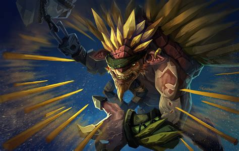 dota 2 bristleback wallpaper dota2 bristleback by biggreenpepper on deviantart