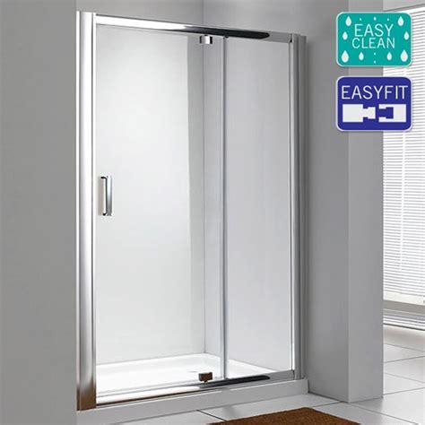 Matrix Shower Doors Matrix 1850mm Pivot Shower Door Now At Plumbing Co Uk