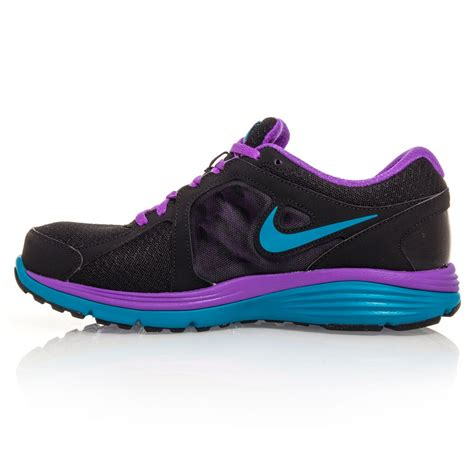 nike dual fusion run msl womens running shoes black