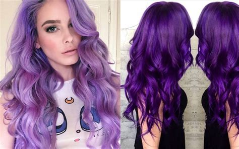 color trends purple dye