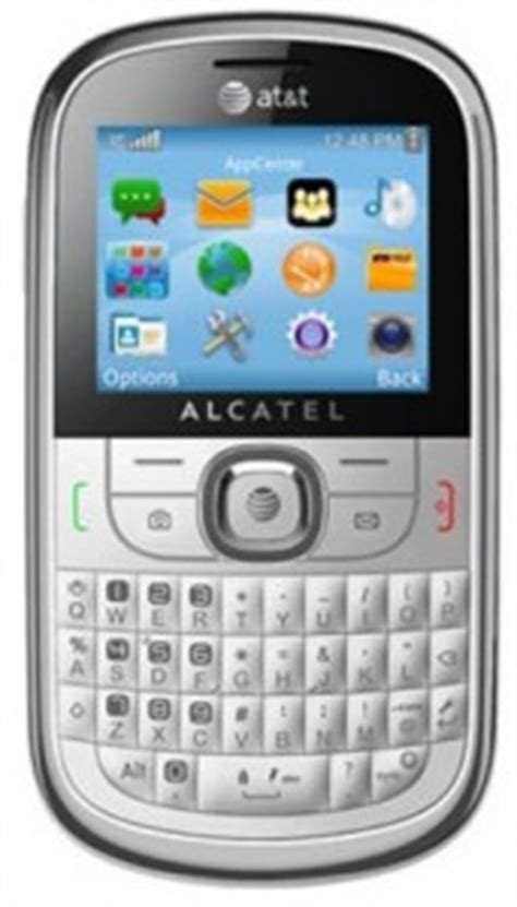 Alcatel 871a Gophone Prepaid Phone at t offers gophone alcatel 871a basic qwerty phone