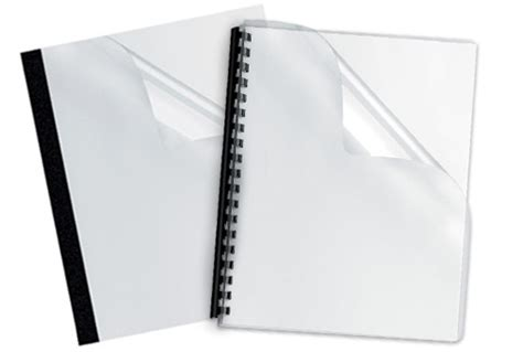 Clear Covers by Clear Binding Covers Mybinding