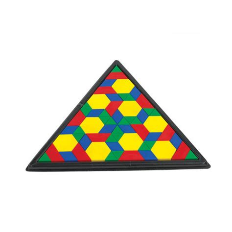 pattern block trays triangular pattern blocks tray math manipulatives