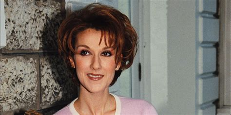 celine dion mini biography happy anniversary quot falling into you quot style lessons we
